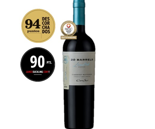 Cono Sur 20 Barrels Limited Edition Cabernet Sauvignon 750ml - Vinho Chileno