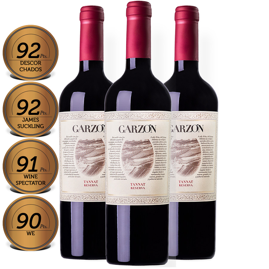 0 - Box Garzon Reserva Tannat 750ml