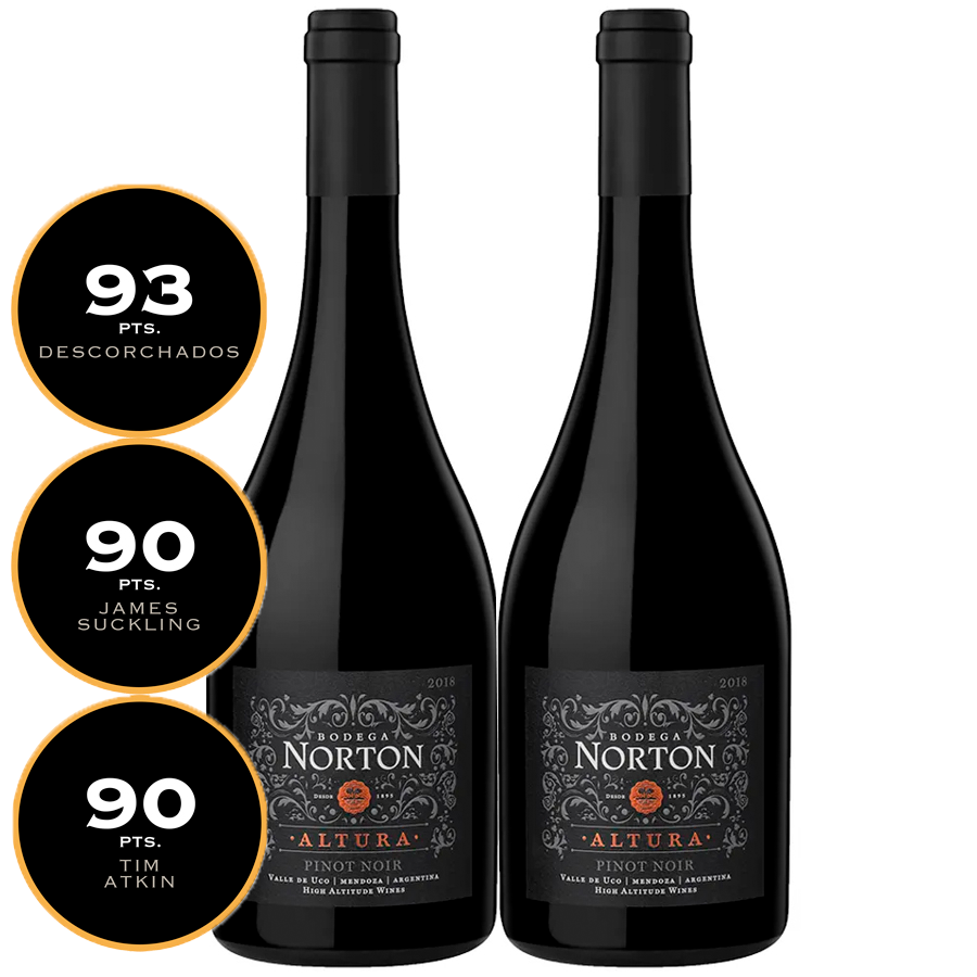 Box Norton Altura Pinot Noir 750ml 2gfs
