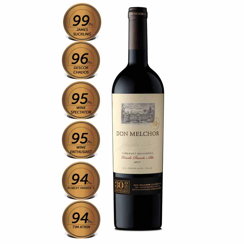 Don Melchor Cabernet Sauvignon 2017 750ml 99pts
