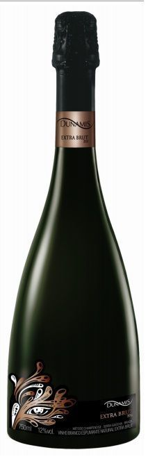 Espumante Extra Brut natural Dunamis 750ml