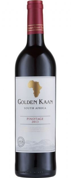 Vinho Africa do Sul Golden Kaan Pinotage 750ml