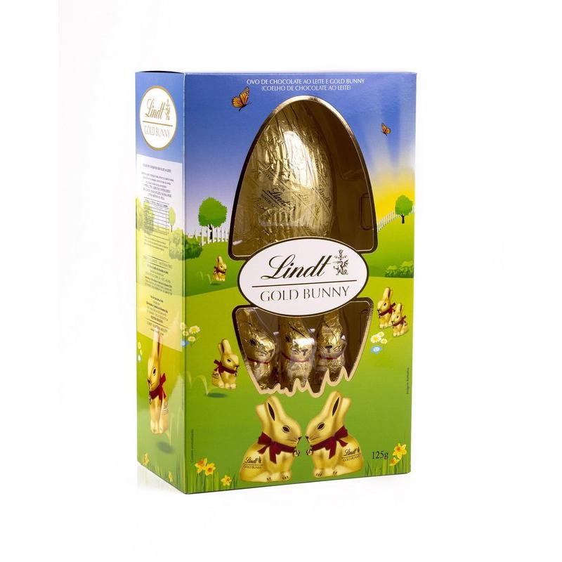 Lindt Gold Bunny (Com mini coelhos) 125g