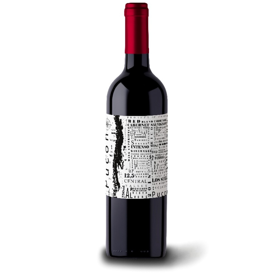 Pucon Blend Cabernet/Carmenere 750ml Vinho Chileno