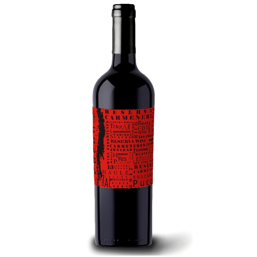 Pucon Reserva Carmenere 750ml - Vinho Chileno