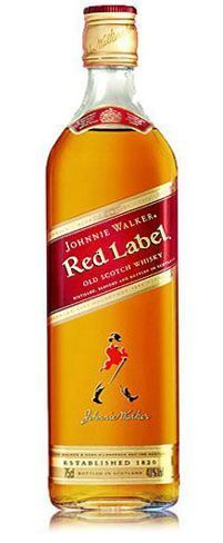 Miniatura Johnnie Walker Red Label 200ML.