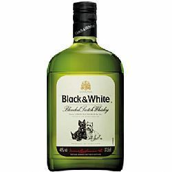 Whisky Black & White 8 anos 375ml