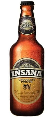 Cerveja Insana Chocolate Porter 500ml