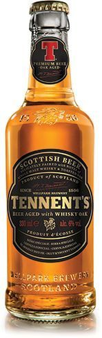 Cerveja Tennents Whisky OAK 330ml