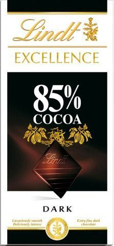 Chocolate Lindt Excellence 85% Cacau Dark 100g