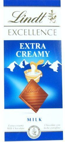 Chocolate Lindt Excellence Extra Creamy Milk 100g