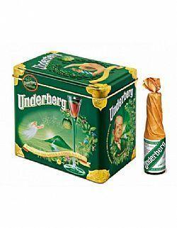 Digestivo Underberg Lata com 12 Miniatura 20 ml