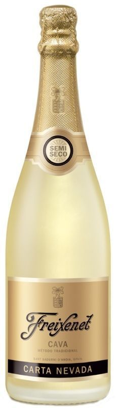 Cava Freixenet Carta Nevada Semi Seco 750ml.