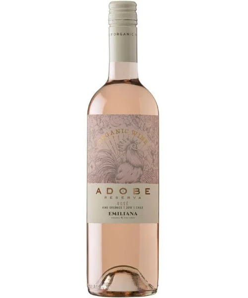 Vinho Chileno Emiliana Adobe Reserva Rosé 750ml