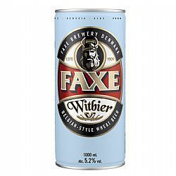 Cerveja FAXE Witbier Lata 1 Litro