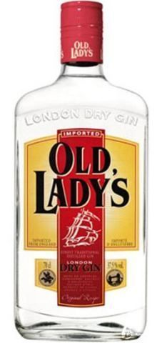 Dry Gin OLd Lady's 50ml