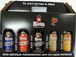 Kit Cerveja Klein 600ml