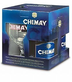Kit Belga Chimay Blue 3 Gfas 1 Taça