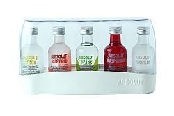 KIT MINIATURA ABSOLUT 5 SABORES 50ml