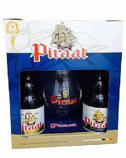 Kit Cerveja Belga Piraat 2 Und 1 Taça