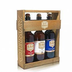 Kit Chimay Madeira 3 Cervejas 750ml