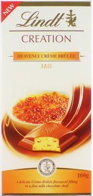 Chocolate Lindt Creation Creme Brulee 100G