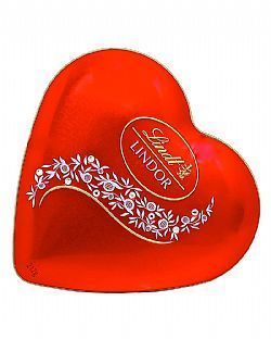 Lindt Lindor Milk Crystal Heart 212G