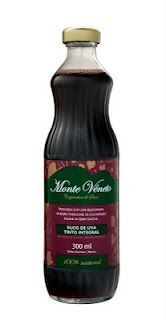 Suco de Uva Monte Veneto Tinto Integral Natural 300 ml:
