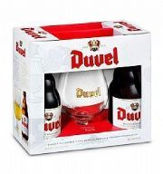 Kit Duvel 02gfa 330ml + 1 taça