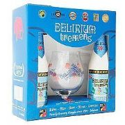 Kit Delirium 330ml 2 garrafas + 1 Taça