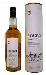 Whisky Ancnoc 12 Anos Highland Single Malt 700ml