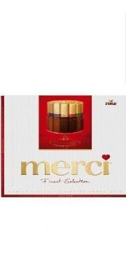 Chocolate Merci Finest Selection 7 especialidades - 250g -Storck