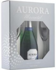Kit Aurora Moscatel 2 taças 750ml