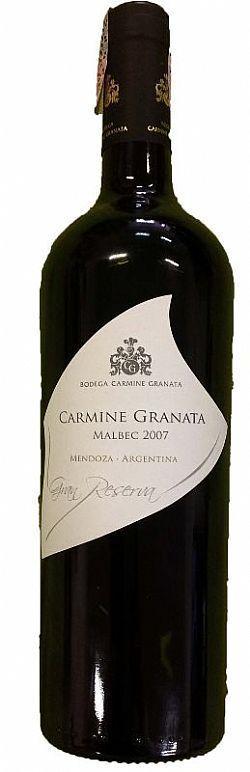 Carmine Granata Gran Reserva Malbec 2012 750ml