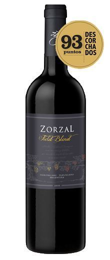Vinho Argentino Zorzal Field Blend 750ml - 93pts