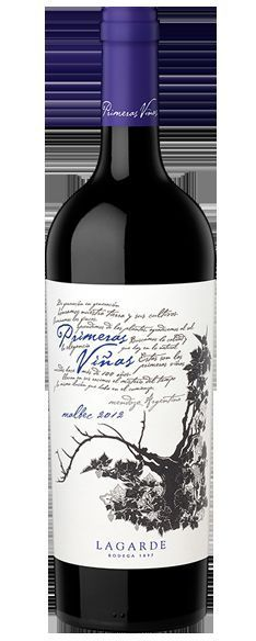 Vinho Argentino Lagarde Primeras Viñas Malbec 750ml
