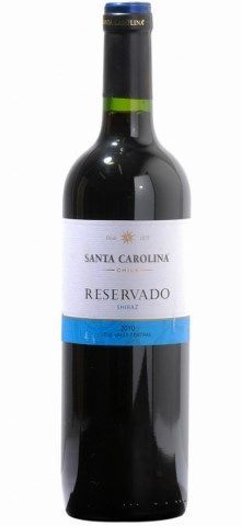Vinho Chileno Santa Carolina Reservado Syrah 750 ml