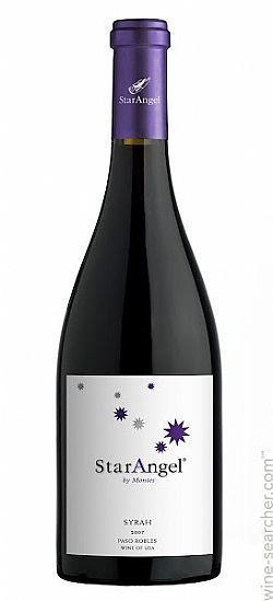Vinho Americano Star Angel Syrah 750ml