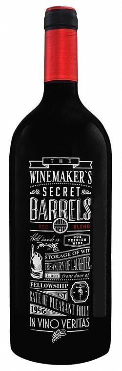 0 - The Winemakers Secret Barrels 1L Vinho Chileno