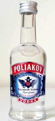 Vodka Poliakov De 50ml