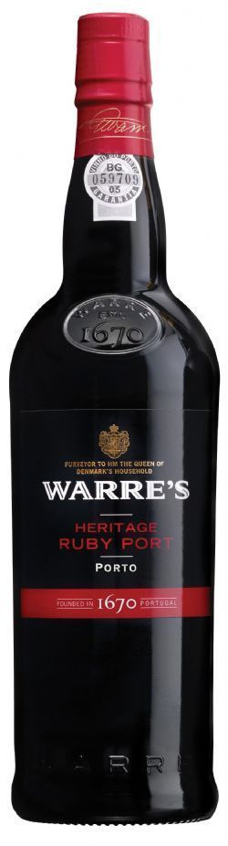 Vinho do Porto WARRE'S Heritage Ruby 750ml Portugal