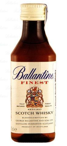 Miniatura De Whisky Ballantines 50ml