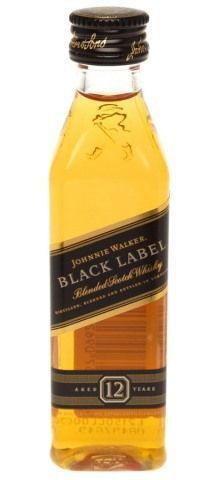 Whisky Black Label 50ml