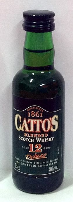 Whisky Cattos 12 Anos 50ml