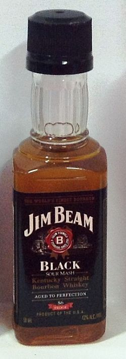Whisky Jim Beam Black 50ml
