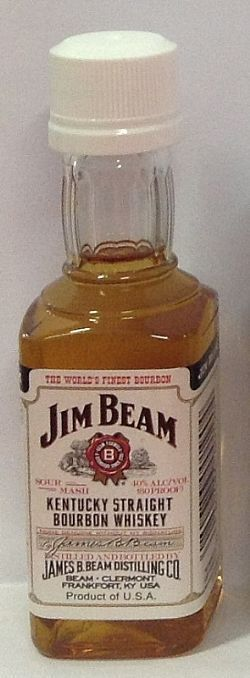 WHISKY JIM BEAM WHITE BOURBON 50ml