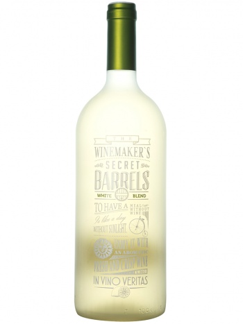 Vinho Chileno The Winemaker's Secret Barrels Branco 1L